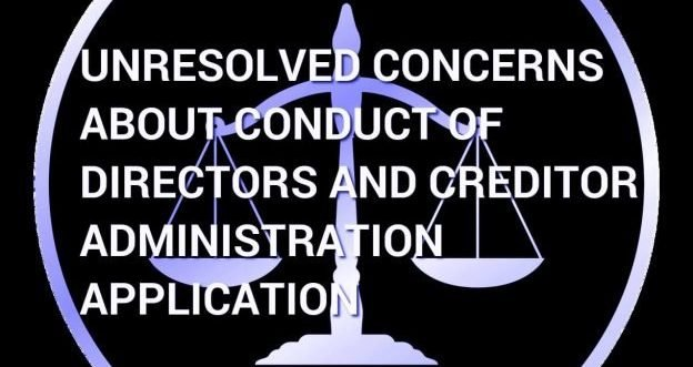 Creditor Concerns About Director Conduct