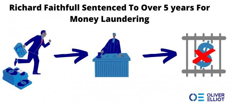 5 years In Prison For Money Laundering